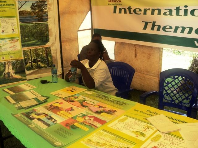 Exhibition Stand Assistant : Kenya forests mmust hosts international conference on
