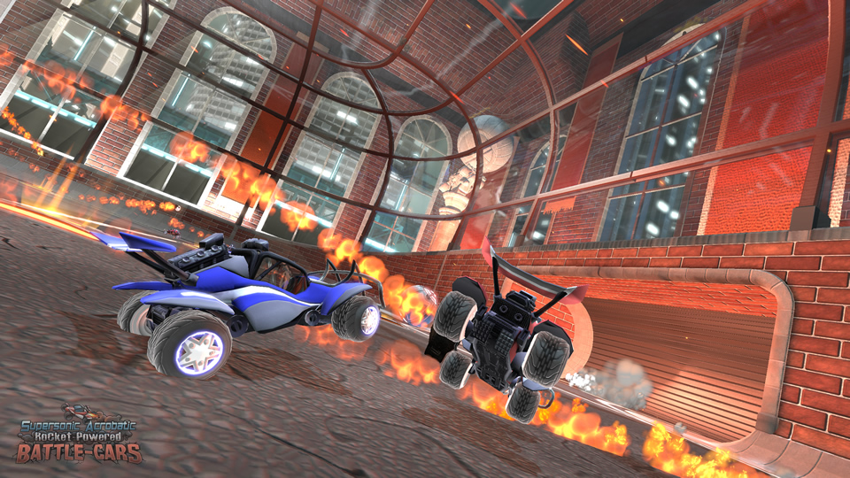 Game With Cars Soccer