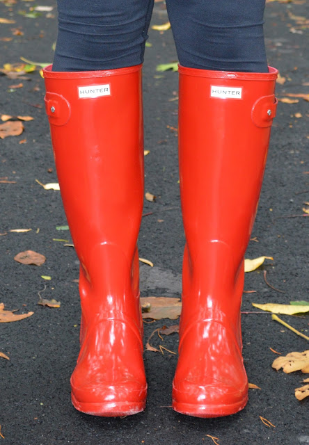 red-glossy-hunter-boots