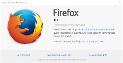 Firefoxista virallinen 64-bittinen versio Windowsille
