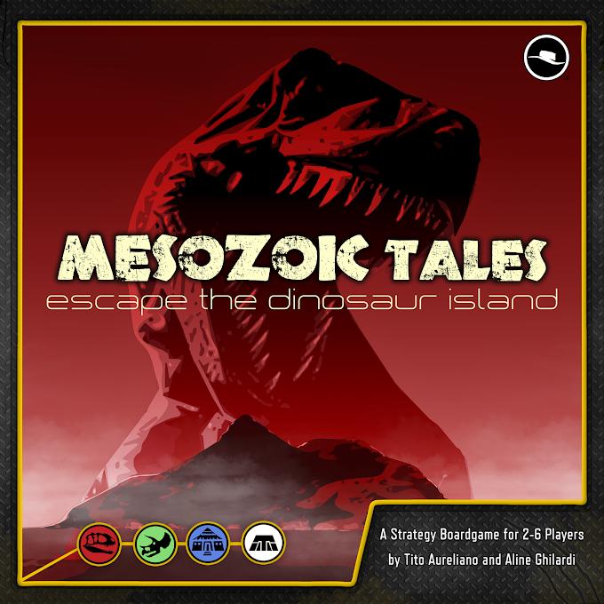 Mesozoic Tales: Escape Dinosaur Island
