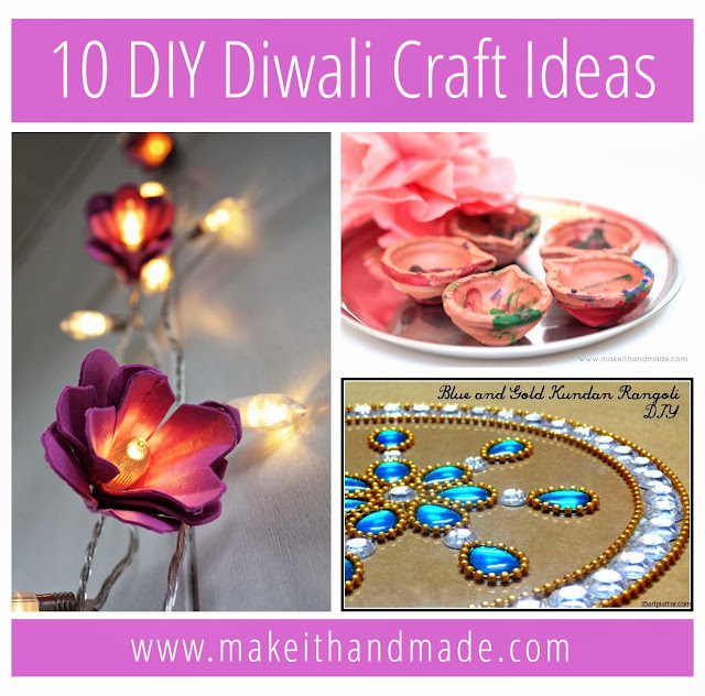 10 DIY Diwali deepawali  craft ideas