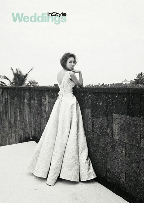Lee Da Hee - InStyle Weddings Magazine March Issue 2014