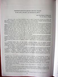 """Articolul din """"Busola"""", referitor la boierimea nemţeană de la jumătatea secolului al XIX-lea, p. 38"""