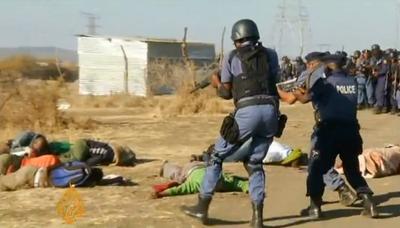 la proxima guerra tiroteo mina sudafrica 30 mineros muertos policia