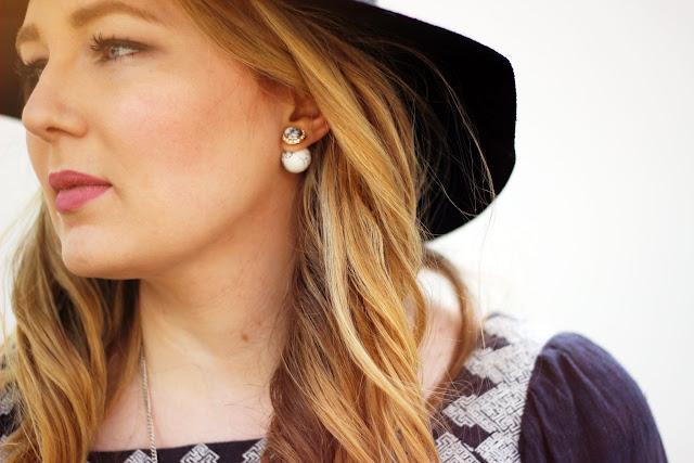 MARBLE earrings, stecker, marmor, Six, Dior fake, look alike,