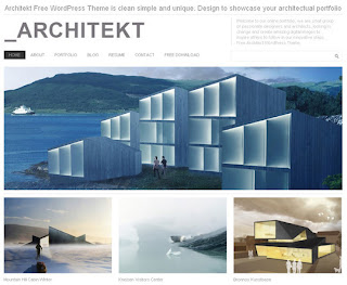 WordPress-Template Architekt