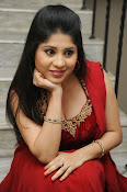 Ziya Khan Glamorous Photos in Red-thumbnail-9