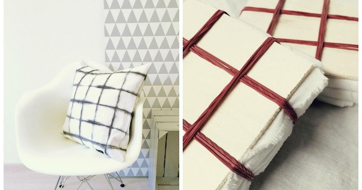 anlukaa glas faden diy kissen f rben. Black Bedroom Furniture Sets. Home Design Ideas