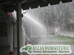 mengatasi kebocoran akibat hujan besar