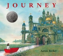 Journey a wordless picture book is a 2014 Caldecott Honor book.  I gave it 3.5 stars.  Here's my review. Aloharmora Open a Book: http://alohamoraopenabook.blogspot.com/