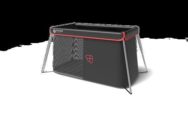 le lit nomade naos ultra compact escape lifestyle mini bonheur. Black Bedroom Furniture Sets. Home Design Ideas