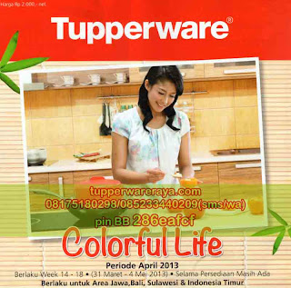 TupperwareRaya-Katalog Tupperware Promo April 2013