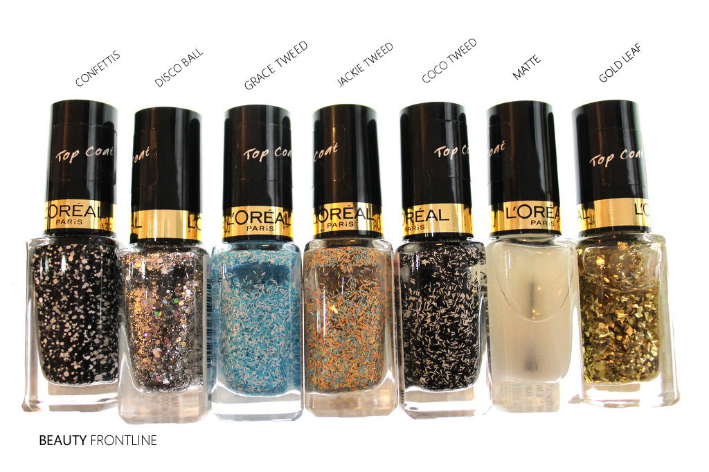 today im introducing the new loreal color riche le vernis top coats now available for purchase loreal launched 7 top coats in india and these are - Vernis L Oral Color Riche