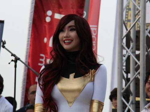 Photos Alodia Gosiengfiao In Middle East Film And Comic Con