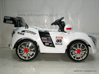 3 Mobil Mainan Aki Pliko PK9200N Audi dengan Kendali Jauh