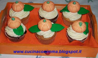 cupcakes di halloween con icam