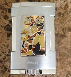 Xikar Mayan Cloisonne Table Top Lighter
