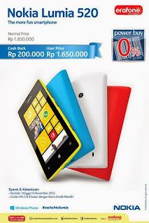 Promo Nokia Lumia November 2013
