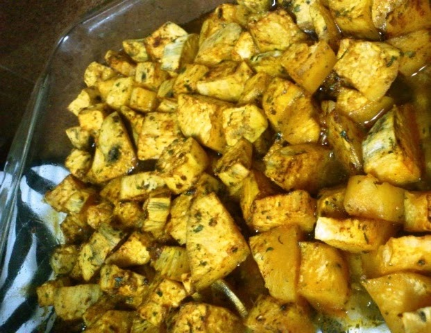 how to make roasted sweet potatoes in the oven