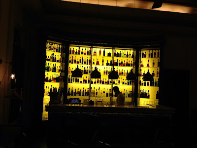 The bar at the Bombay Brasserie, Gloucester Road, London