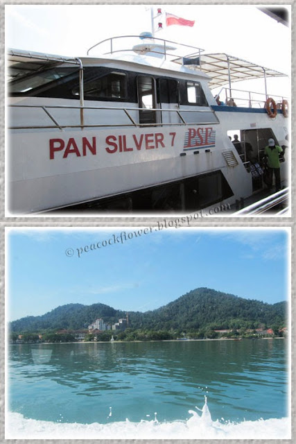 Ferry back to Lumut from Pangkor Island
