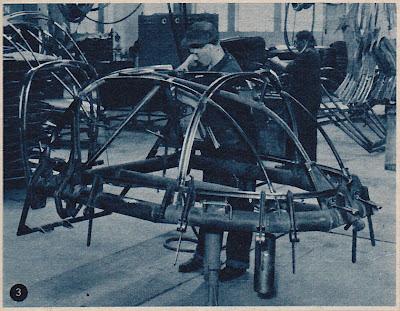 Heinkel Car assembly jig