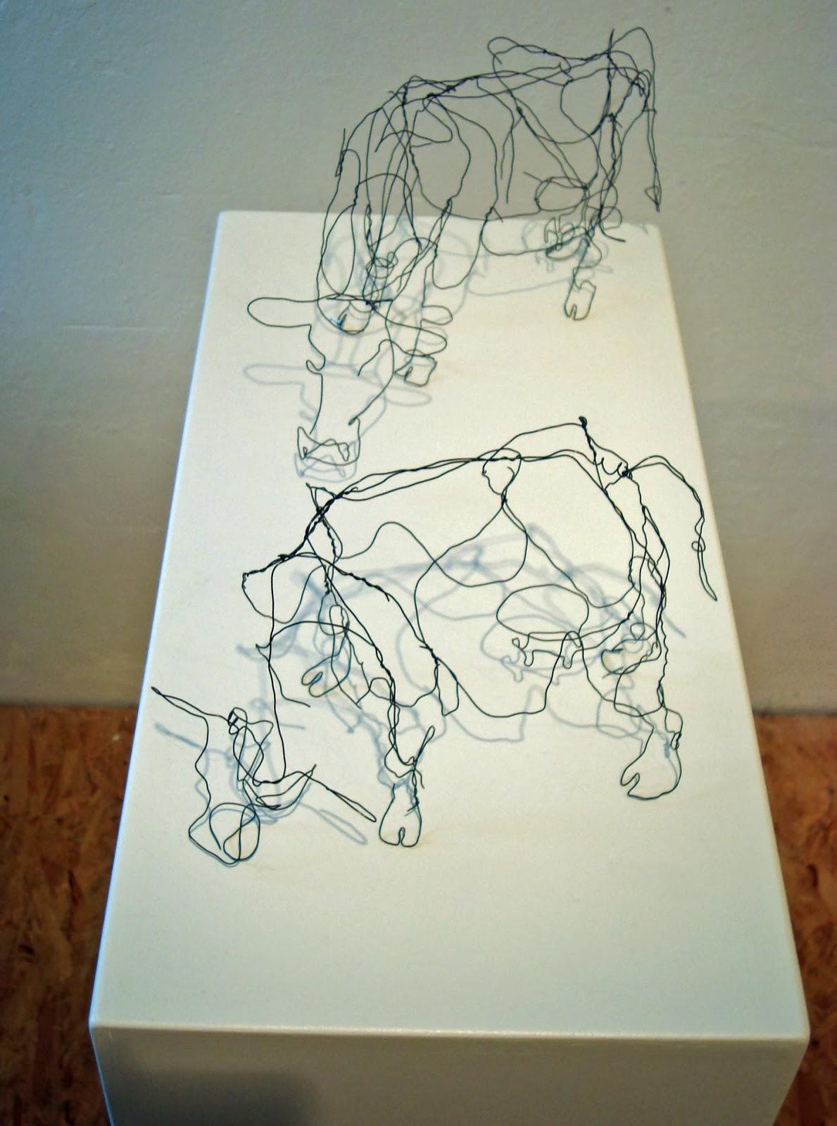 Großartig Draht Kunst Galerie - Der Schaltplan - greigo.com