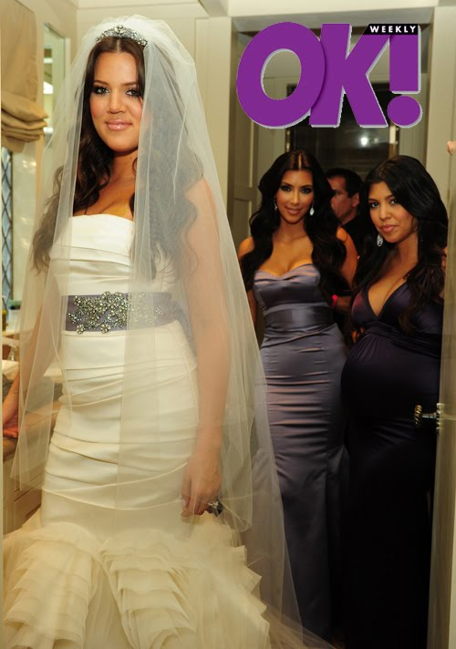 Lamar and khloe wedding pictures