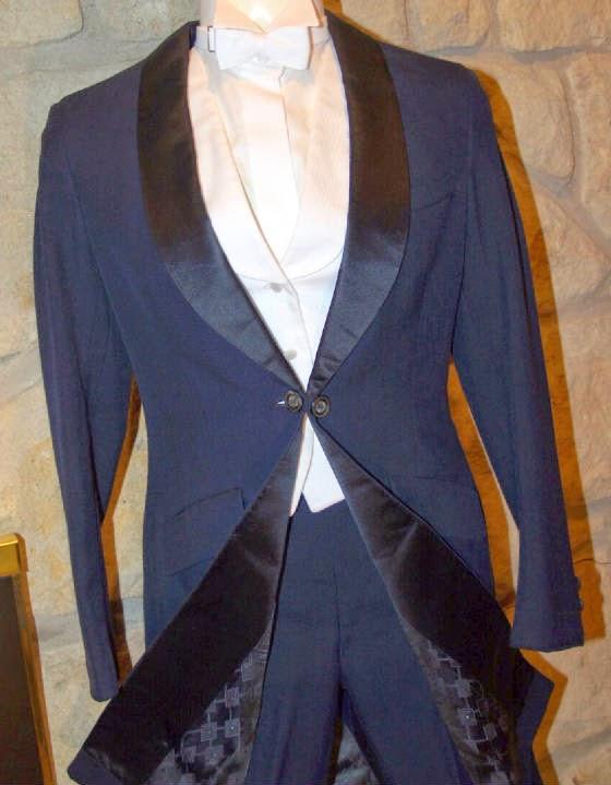 áo vest nam màu xanh navy
