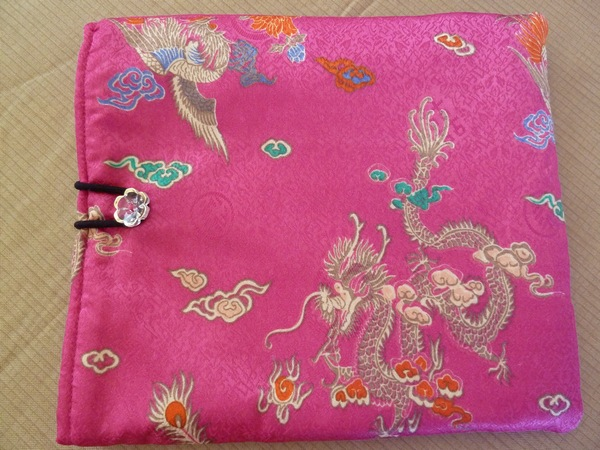 diy pink chinese ipad case