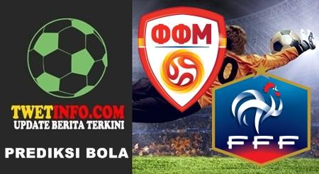 Prediksi FYR Macedonia U21 vs France U21