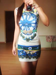 Miss Floral Print Dress
