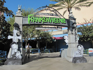 Frankenweenie Sneak Peak California Adventure