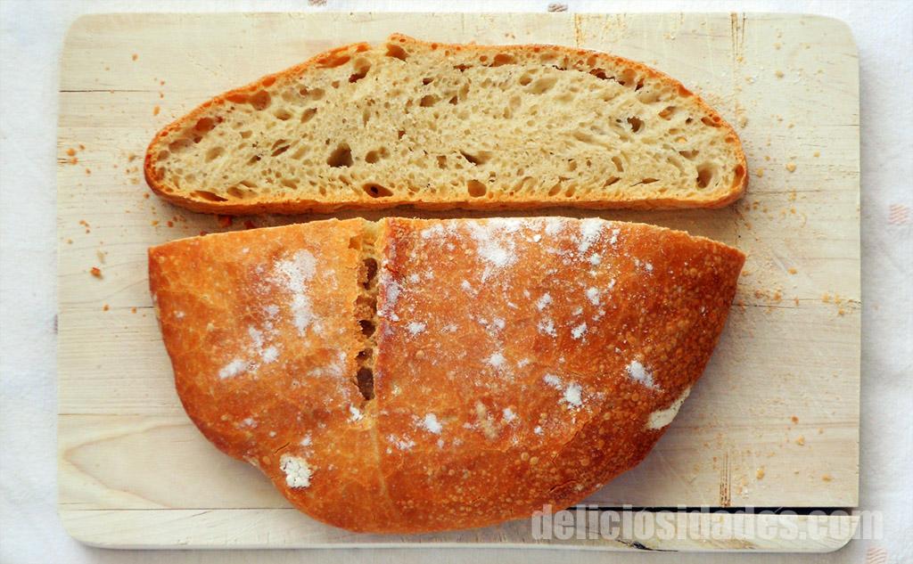 deliciosidades - Receta sencilla de pan (trigo candeal)