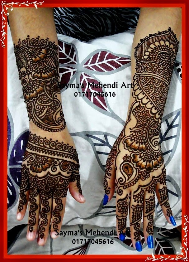 Mehndi designs for hands 2014