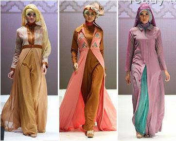 Model baju pesta muslimah desain terbaru