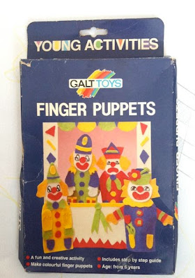 Galt clown finger puppets