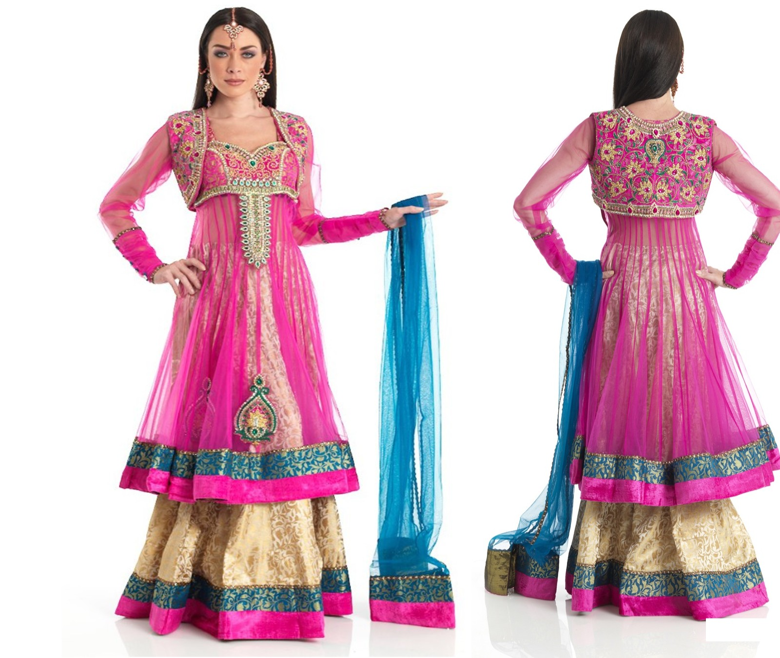 Double Shirt Dresses Designs 2012 2013 Indian Double Shirts Frock Styles She Styles