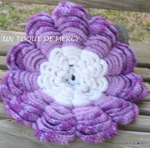 Set de baño a crochet paso a paso - Imagui