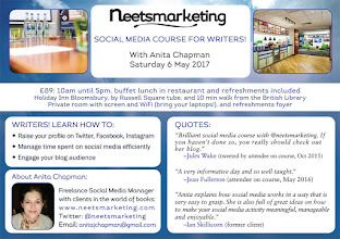 6 May London: Social Media Course for Writers
