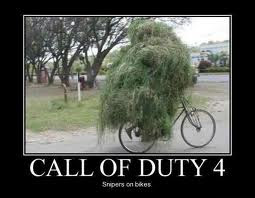 call of duty 4 snipers on bikes