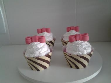 Cupcake zebra chic