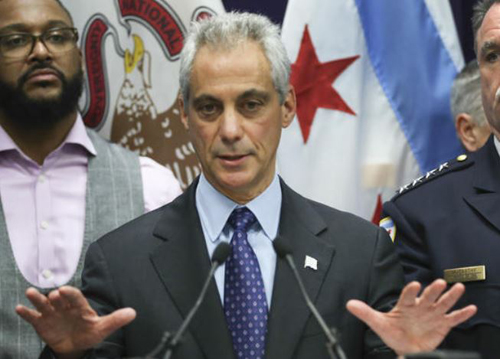 "The Mayor of Chicago, Rahm Emanuel: He's a heap of lying garbage and typical of the ""leadership"" polluting the  Democratic Party."
