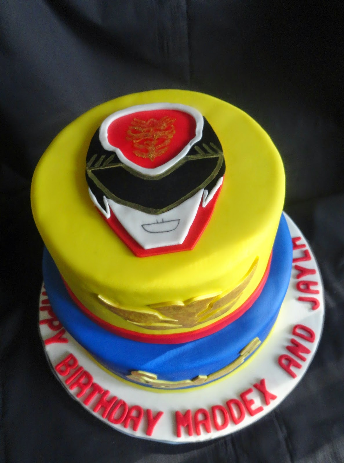 How To Make A Power Ranger Cake