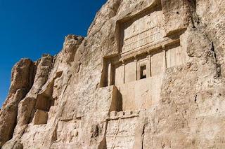 Persia - Tumba de Dario I - Historia de las civilizaciones