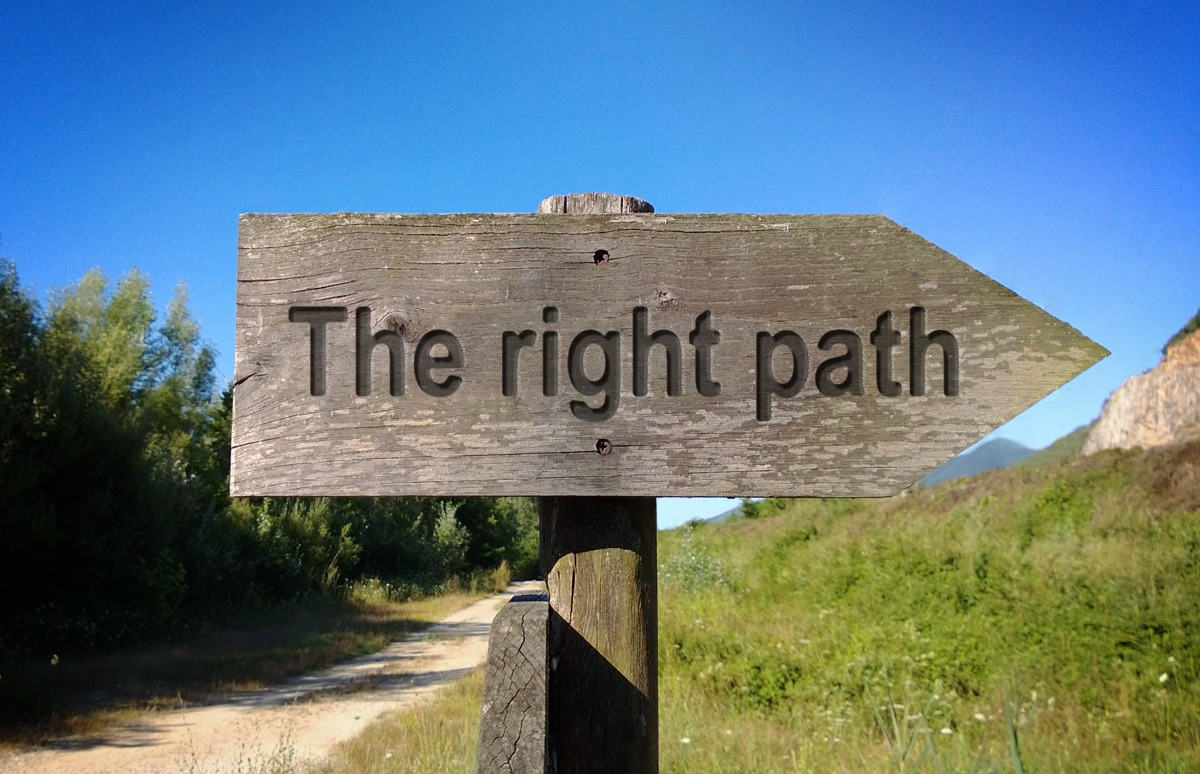 The right path and a few untrue things
