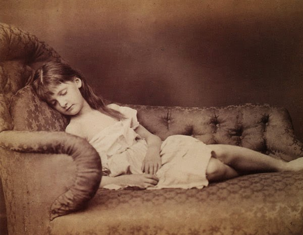 Lewis Carroll. Fine Art Photography. Xie Kitchin. 1874