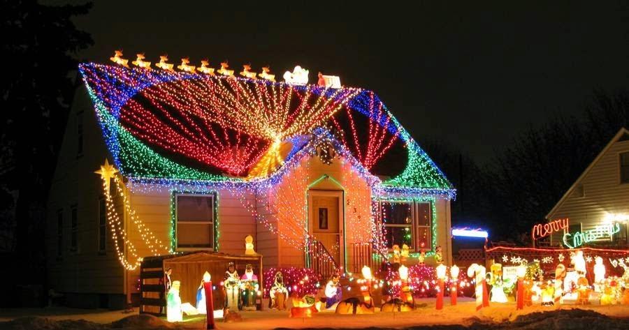 Arquitectura de casas consejos de decoraci n para la navidad for Decoracion luminosa navidena
