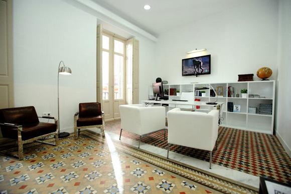 Un sal n vintage y moderno for Salones vintage baratos